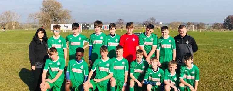 Allscott Heath FC team photo