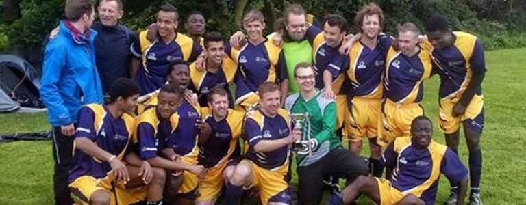 Anglia FC team photo