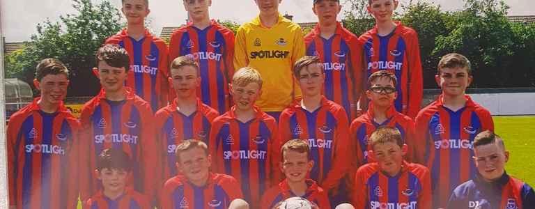 Artane Beaumont - League A team photo
