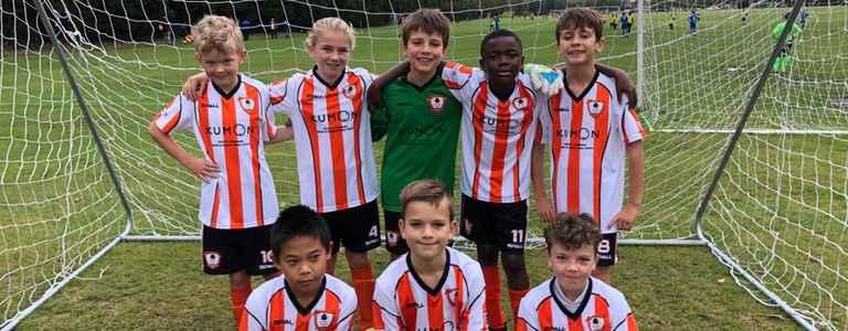 Ashford Town Colts U10 team photo