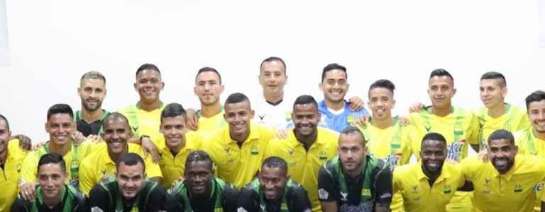 Atlético Bucaramanga team photo
