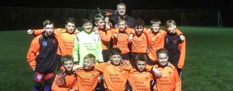 Barrowford Celtic Orange U12 team photo