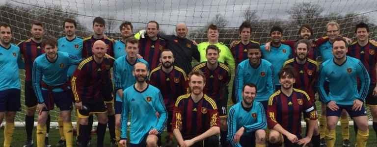 Beaujolais Fun Boys FC - CLSSL Preliminary team photo