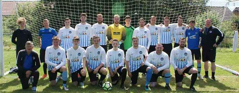 Bedlington FC - Second Division team photo