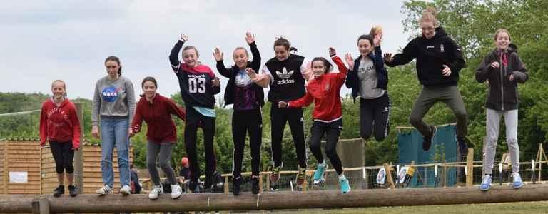 Bedwell Rangers Diamonds team photo