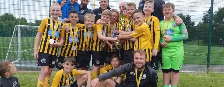 Bedworth Warriors U12 Wasps team photo