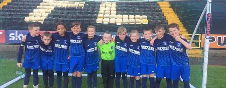 Beeston Park Rangers U11s team photo