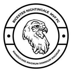 Bicester Nightingale's Mvf FC team badge