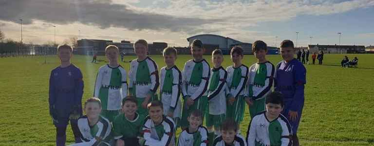 Billingham Synthonia Junior FC U14s 20/21 team photo