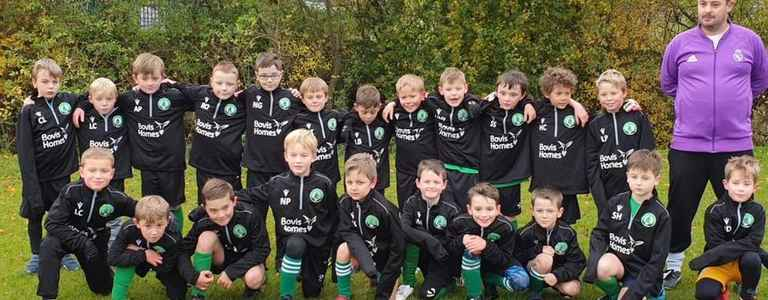 Bishops Cleeve Colts U9's team photo