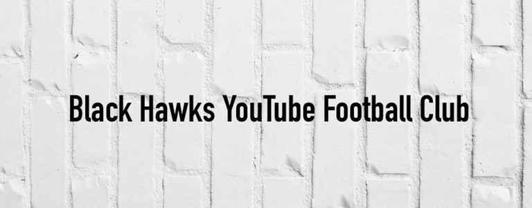Black Hawks FC team photo