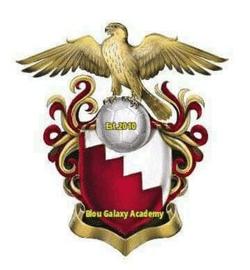Blou Galaxy Academy team badge