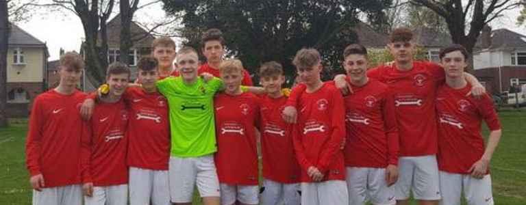 Bournemouth Poppies U18s Boys team photo
