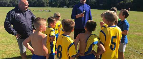 Match Report - GREENFIELDS YOUTH U9 FALCONS - 15 Sep 2019