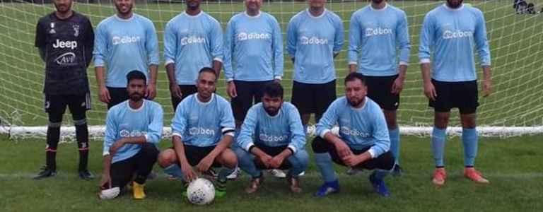 Brent Athletic F.C team photo