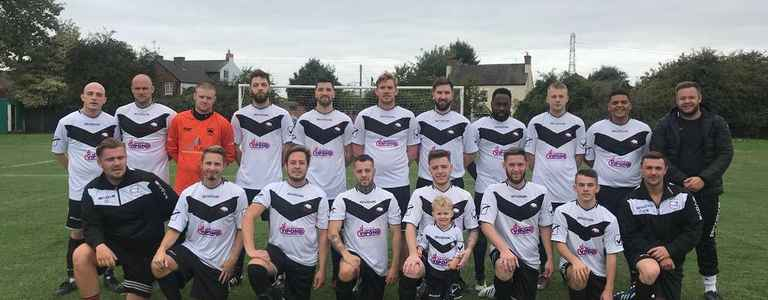 Bromsgrove Corinthians Firsts team photo