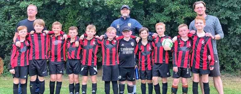 Broomfield U10's Knights team photo