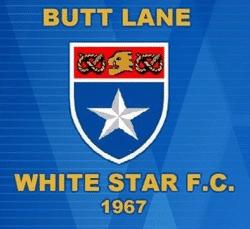 Butt Lane White Star U8 team badge