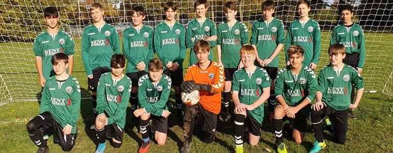 Canterbury Eagles U16's team photo