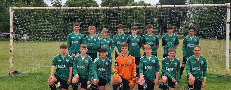 Canterbury Eagles U18's team photo