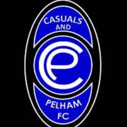 Casuals And Pelham FC team badge