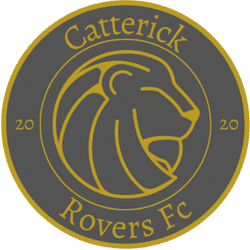 CATTERICK ROVERS 1st team badge