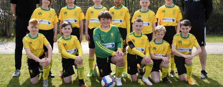 Chadderton Park Dragons U12 team photo