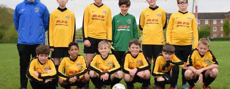 Chineham Tigers U13 Gold team photo