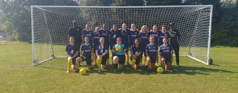Clapham United WFC team photo