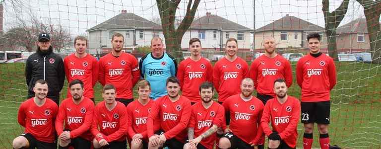 Clifton Rangers Reserves - Division Two team photo