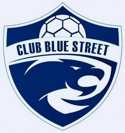 Club Blue Street team badge