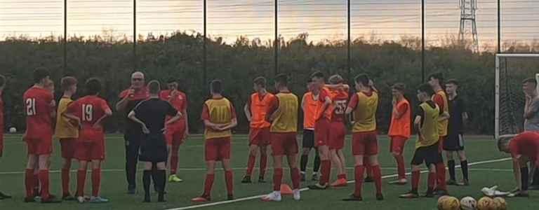 Clyde FC Community U17s team photo