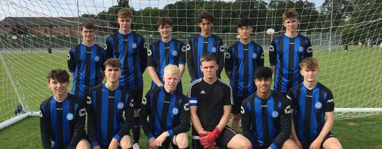 Colchester Villa U18 team photo