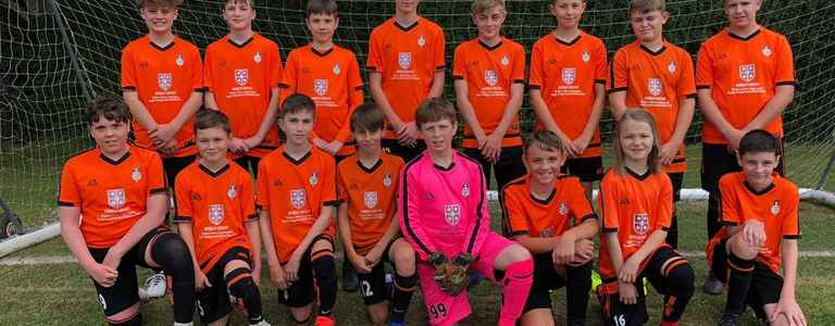 Colden Common Youth U14 Rangers team photo