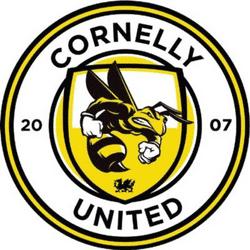 Cornelly UTD team badge