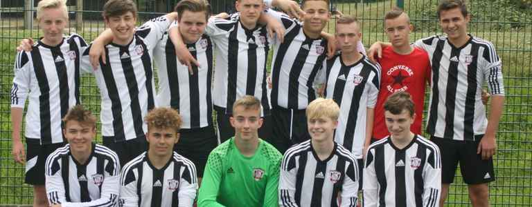 Cosby Colts U17 team photo