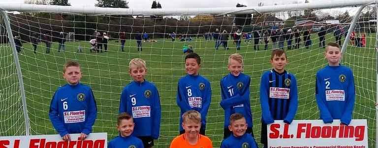 Cottage Farm Rangers U11 team photo