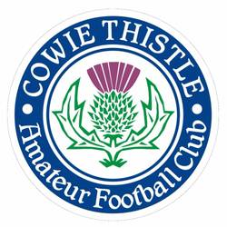 Cowie Thistle team badge