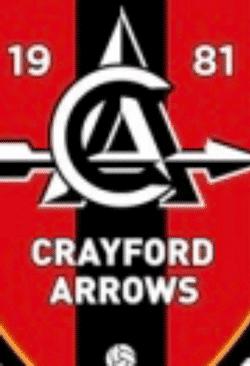 Crayford Arrows team badge