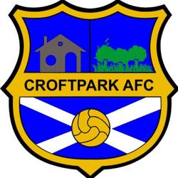 Croftpark AFC team badge
