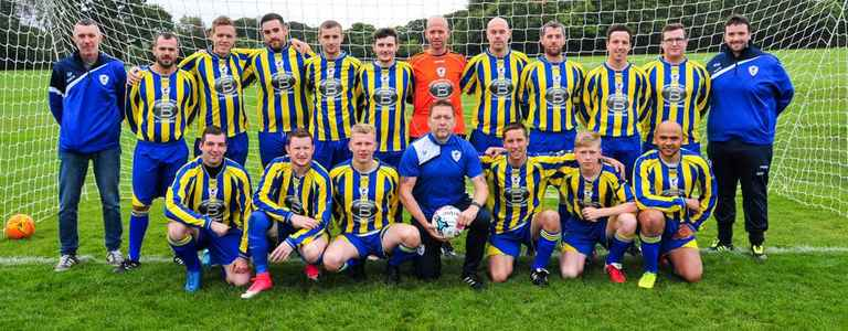 Crown And Anchor AFC team photo