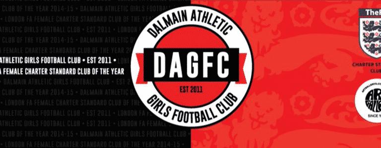 Dalmain Athletic GFC U13s team photo