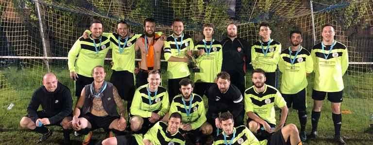 Denham Raptors FC - Tavistock Sound & Vision Third Division team photo