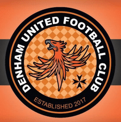 Denham United Football Club team badge