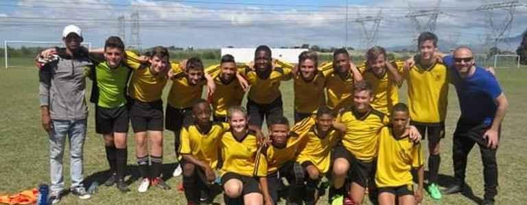 DFC U14 team photo