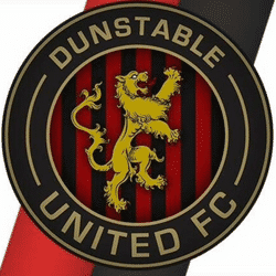 Dunstable United (2015) Lions team badge