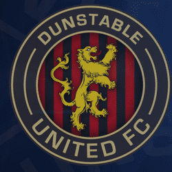 Dunstable United Reds team badge