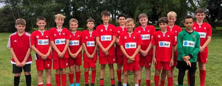 Eastbourne Borough Youth U13 team photo