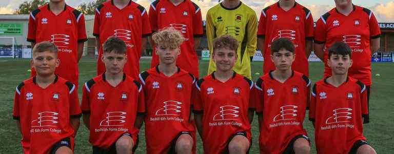Eastbourne Borough Youth U15 team photo