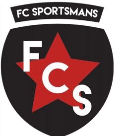 F C Sportsmans team badge